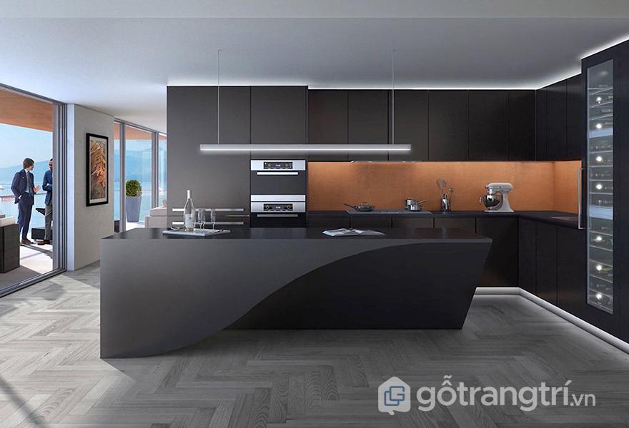 Không gian bếp tiện nghi với các sản phẩm nội thất tích hợp
