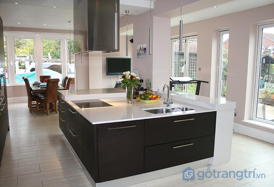 Đảo bếp là trung tâm thẩm mỹ và chức năng của không gian nấu nướng - ăn uống