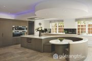 Ngắm nhìn những không gian nhà bếp lớn phong cách dành cho dạ tiệc
