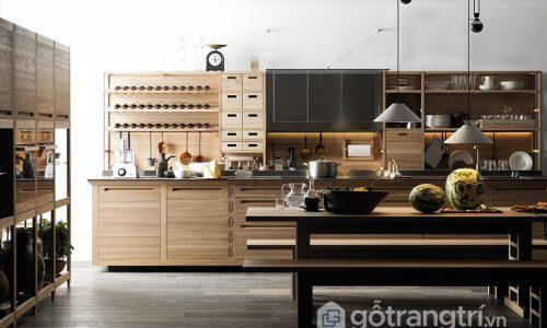 Ngắm nhìn thiết kế nhà bếp truyền thống kiểu mới phong cách Châu Âu