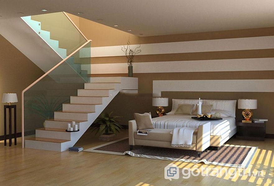 Những điều kiêng kỵ khi đặt giường ngủ: Cầu thang