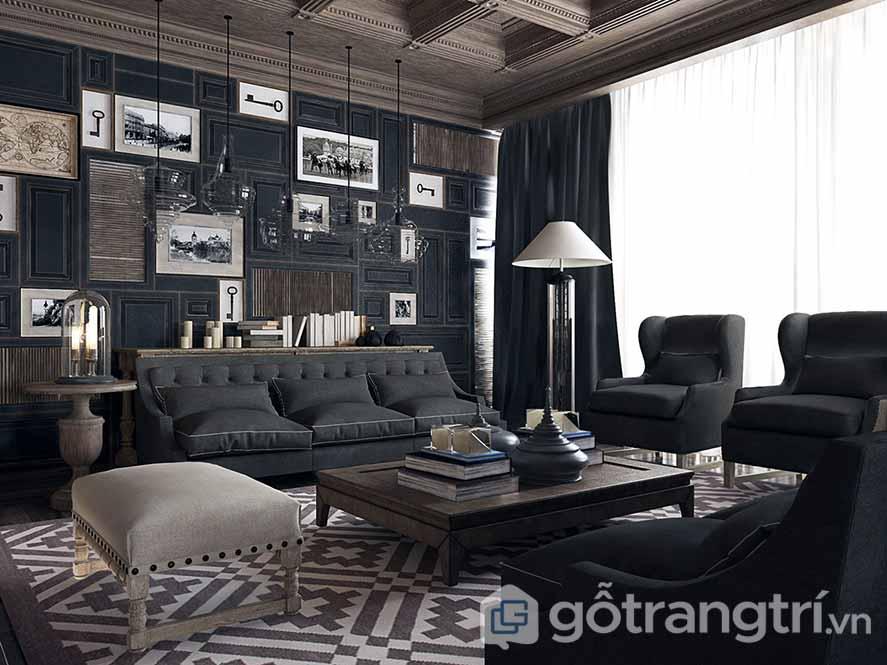 Thiết kế nội thất chung cư kiểu Pháp