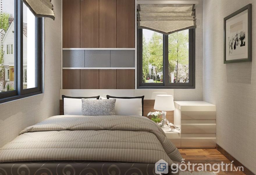 Phòng ngủ lấy cảm hứng từ văn hóa thiền