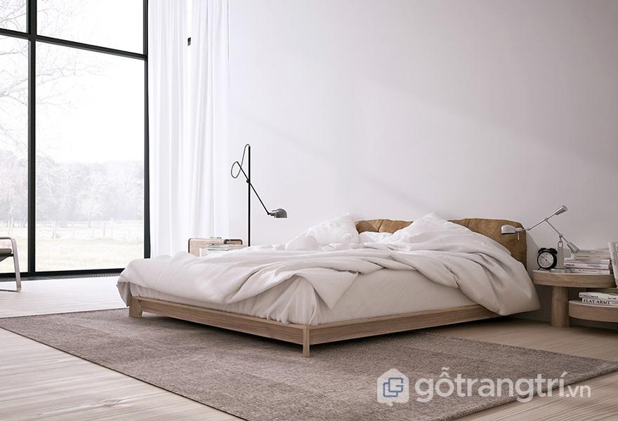 Không gian phòng ngủ mang phong cách tối giản
