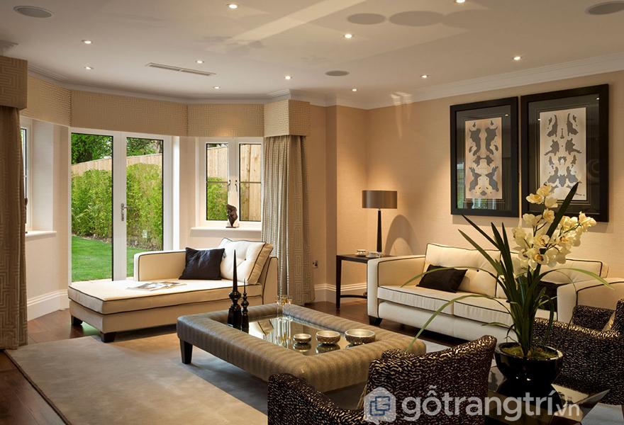 Những mẫu phòng khách mang phong cách hiện đại