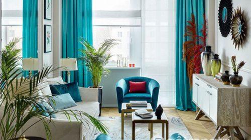 Ngất lịm phòng khách căn hộ đẹp đan xen giữa truyền thống và hiện đại