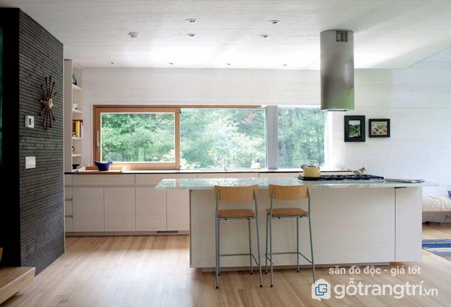 Những lưu ý quan trọng về màu sắc, chất liệu trong phong thủy nhà bếp