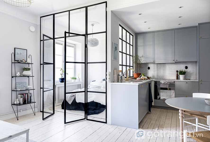 Thiết kế nội thất thông minh chưng cư 32m2