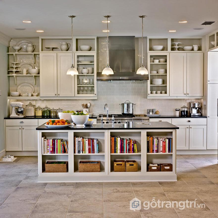Thiết kế bếp sáng tạo với vật liệu gỗ
