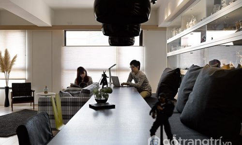 Thiết kế căn hộ cá tính với cách bày trí nội thất như một quán café (P1)