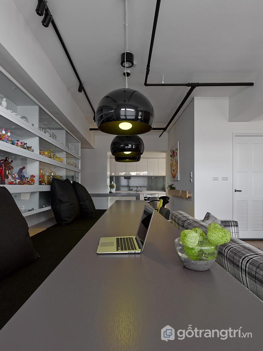 Thiết kế căn hộ như quán cafe