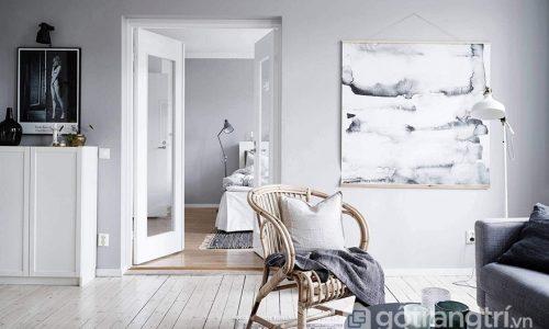Thiết kế nội thất đơn sắc – xu hướng chưa bao giờ là lỗi thời