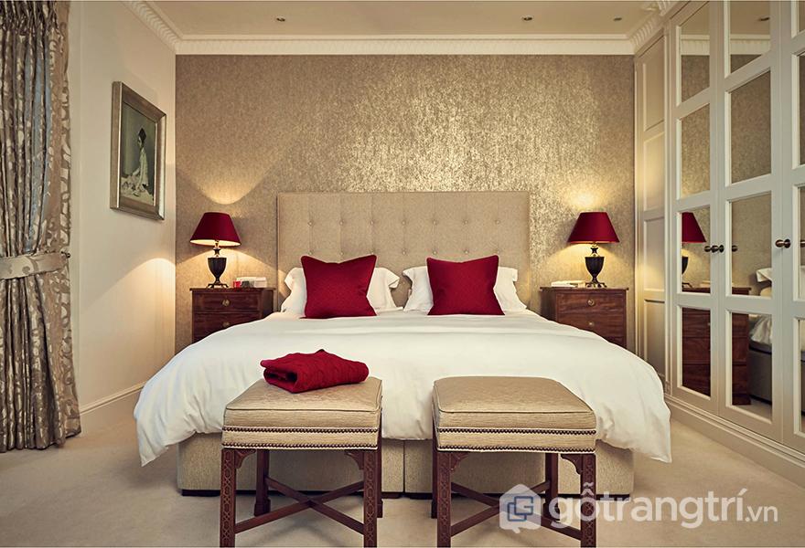 Những đường cong làm nên nét quyến rũ cho phòng ngủ