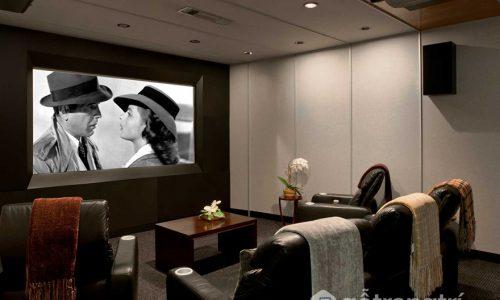Thiết kế rạp chiếu phim trong nhà – nơi thư giãn cho cả gia đình