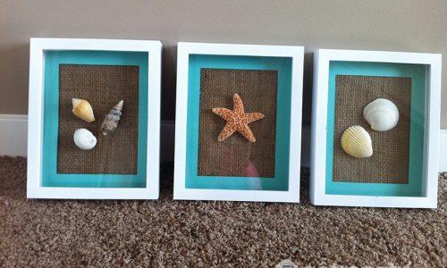 Trang trí phòng tắm bằng những hình ảnh sinh vật biển sống động
