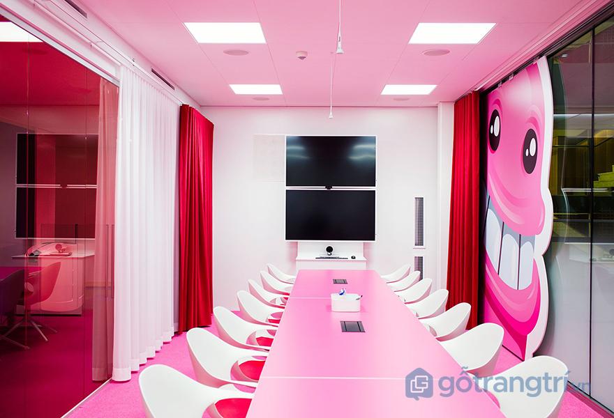 Khu vực phòng họp trong văn phòng công ty