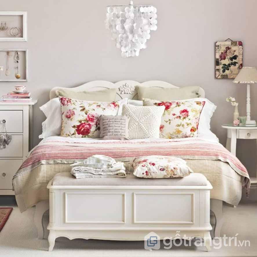 Thiết kế nội thất phòng khách phong cách VIntage