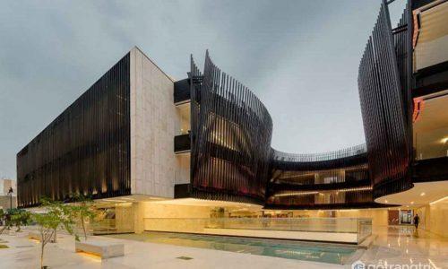Bí ẩn kiến trúc đương đại trong thiết kế cung điện âm nhạc Mexico
