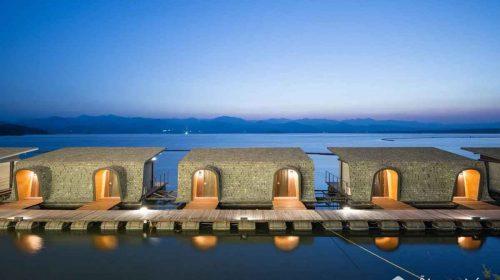 Mục sở thị khu nghỉ mát đẳng cấp Z9 resort nằm trên đập nước Thái Lan