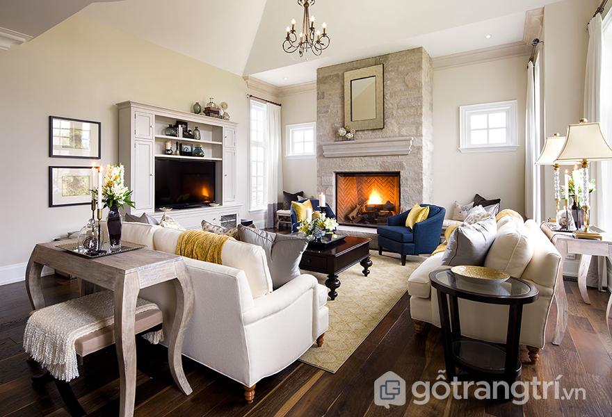 Lựa chọn bàn ghế hộp phòng khách phù hợp với kích thước căn phòng