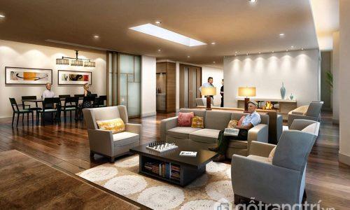 Cách lựa chọn và bố trí bàn ghế hộp phòng khách cho căn hộ