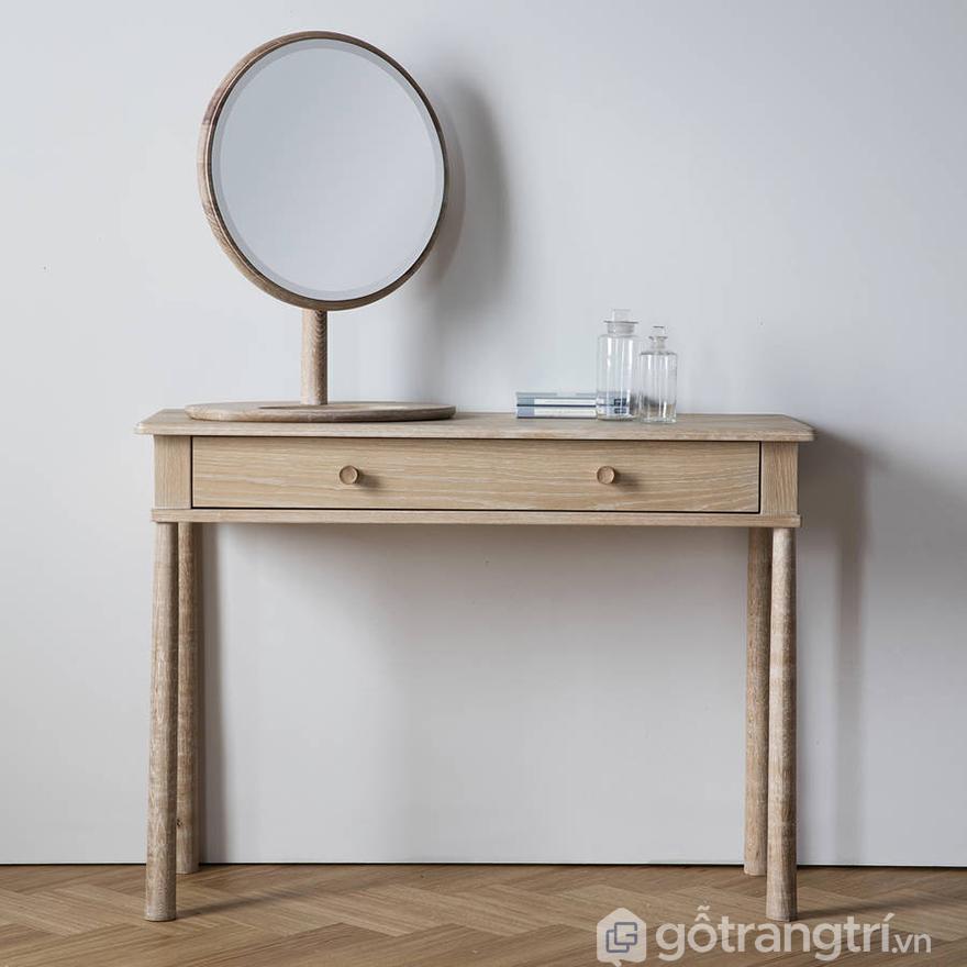 Cách đặt bàn trang điểm trong phòng ngủ: gương soi cần được lưu ý nhiều hơn cả