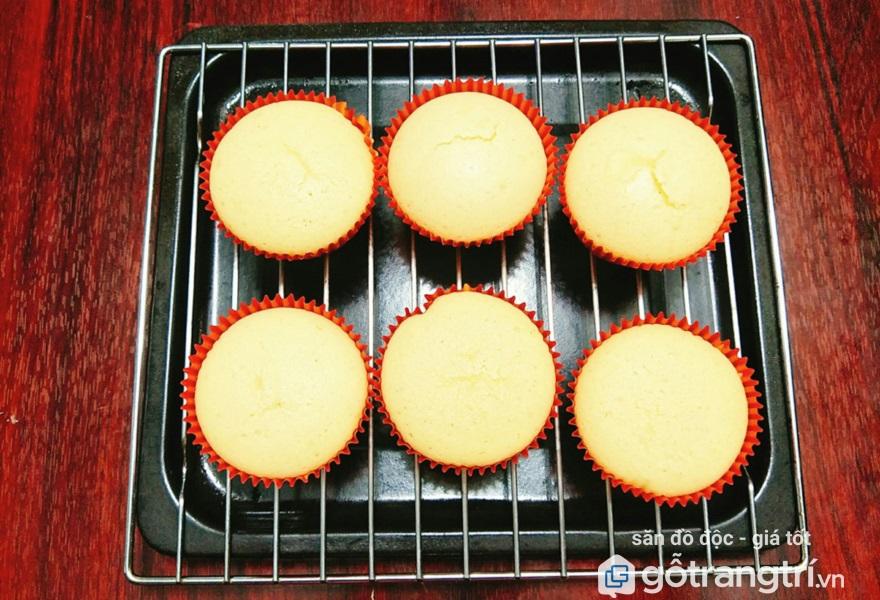 cách làm bánh cupcake nướng