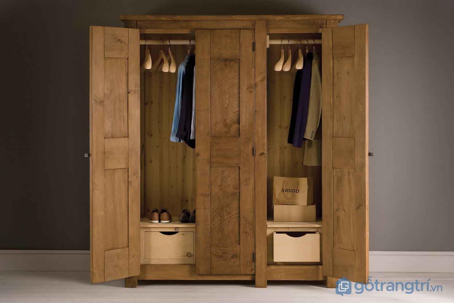 Có rất nhiều cách xử lý tủ quần áo bị ẩm mốc
