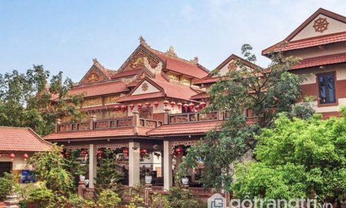Chùa Nam Sơn - Hớp hồn du khách bởi lối thiết kế kiến trúc độc đáo
