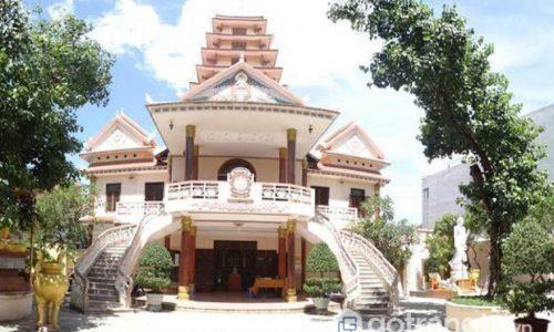 Chùa Tam Bảo - Thiết kế và xây dựng theo lối kiến trúc Đông Nam Á