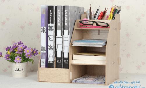 Kệ sách gỗ lắp ghép - sự lựa chọn thông minh với nguồn kinh phí hạn hẹp
