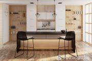 Kệ bếp mở - giải pháp lựa chọn nội thất hiệu quả cho nhà chật