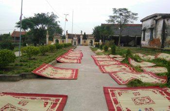 Làng nghề chiếu Hới - cái nôi nghề dệt chiếu truyền thống Việt Nam