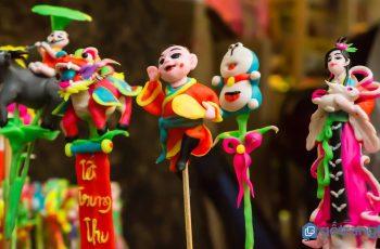 Tìm hiểu nghệ thuật nặn tò he ở làng tò he Hà Dương - Nam Định