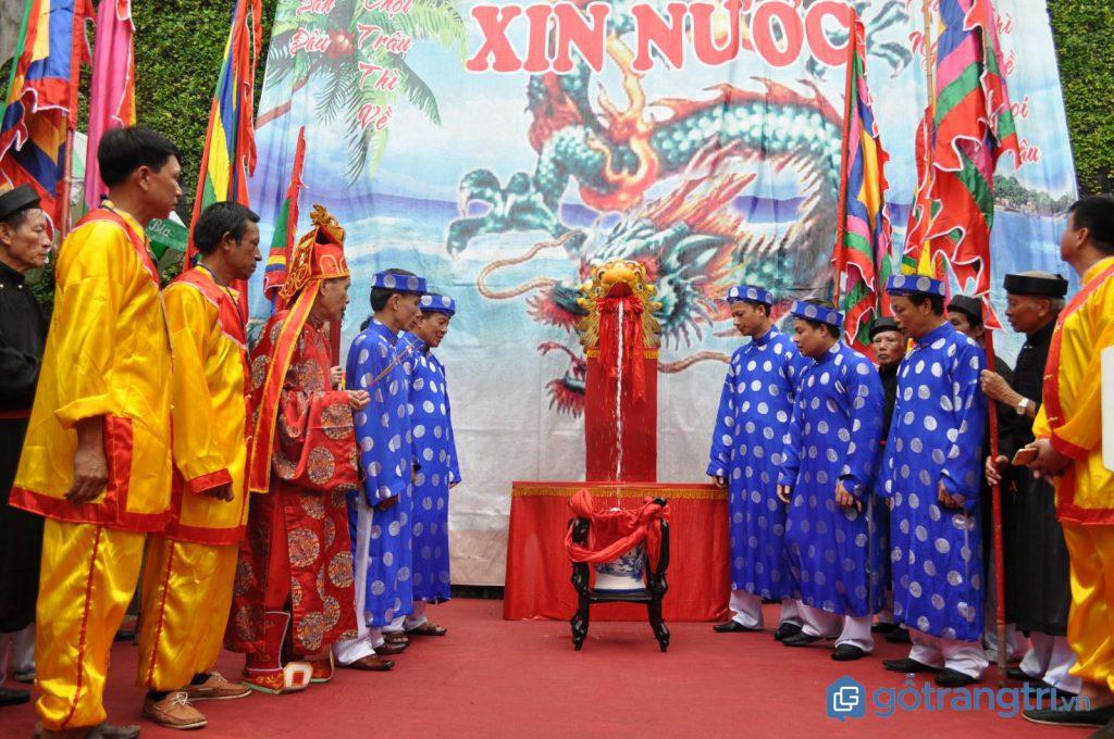 Lễ rước nước khai mạc lễ hội chọi trâu Đồ Sơn