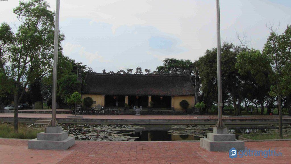 Khu di tích Đền Đa Hòa - Dạ Trạch, nơi tổ chức lễ hội Chử Đồng Tử - Tiên Dung
