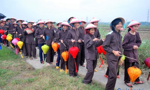 Nét đẹp văn hóa cổ truyền lễ hội Rước Mục Đồng của làng Phong Lệ