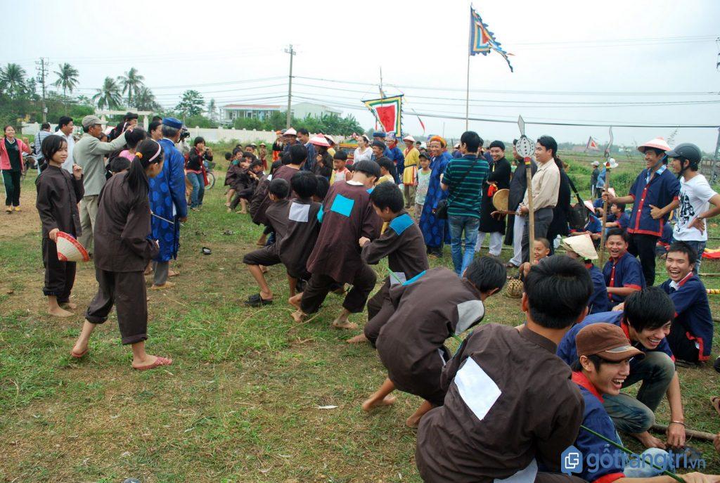 Các trò chơi dân gian được tổ chức trong lễ hội Rước Mục Đồng