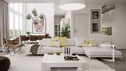 Những lưu ý trong thiết kế giúp phòng khách thêm phần tinh tế