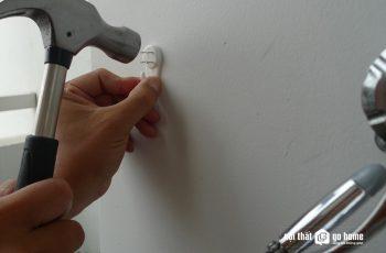 3 loại móc đồ treo tường không cần khoan chịu trọng lượng
