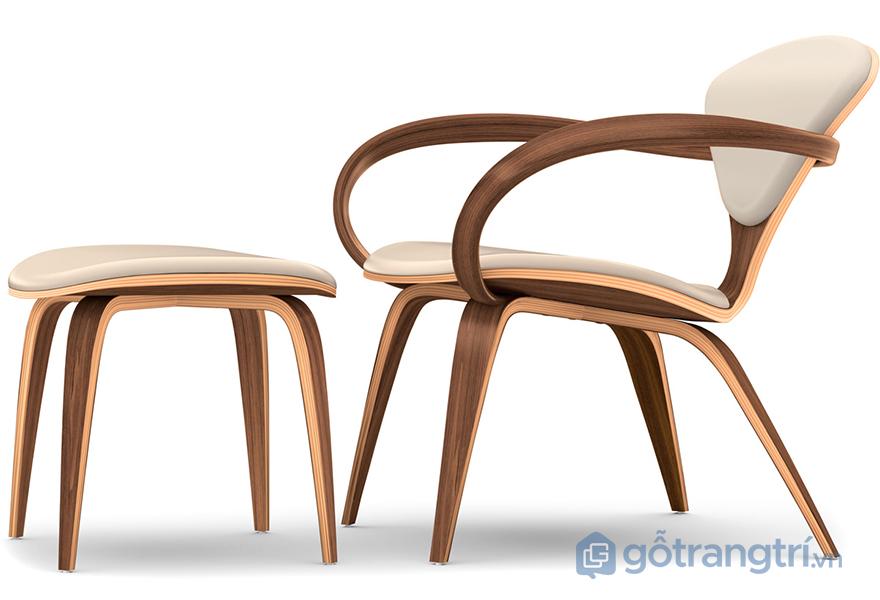 Mẫu ghế có thiết kế thanh lịch và đơn giản