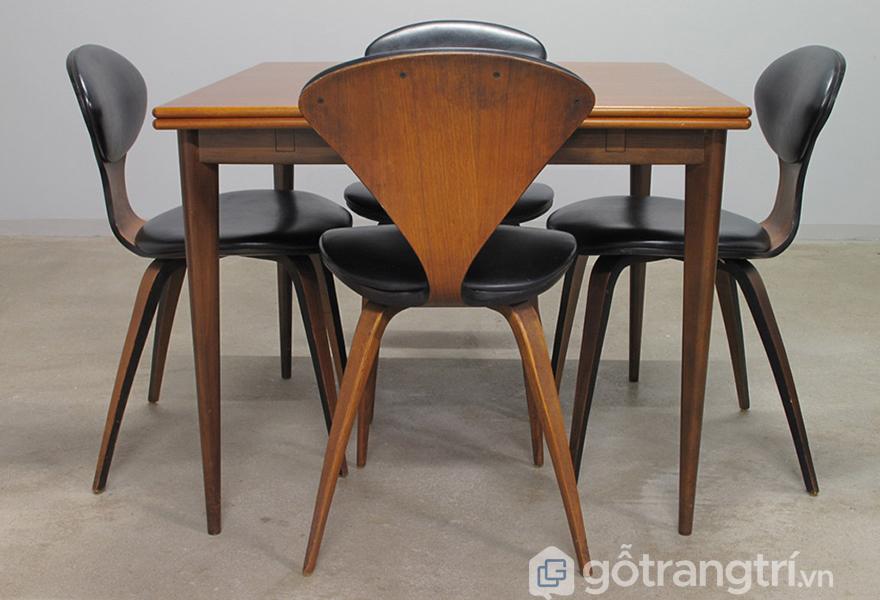 Ghế cũng có thể đặt tại bàn ăn