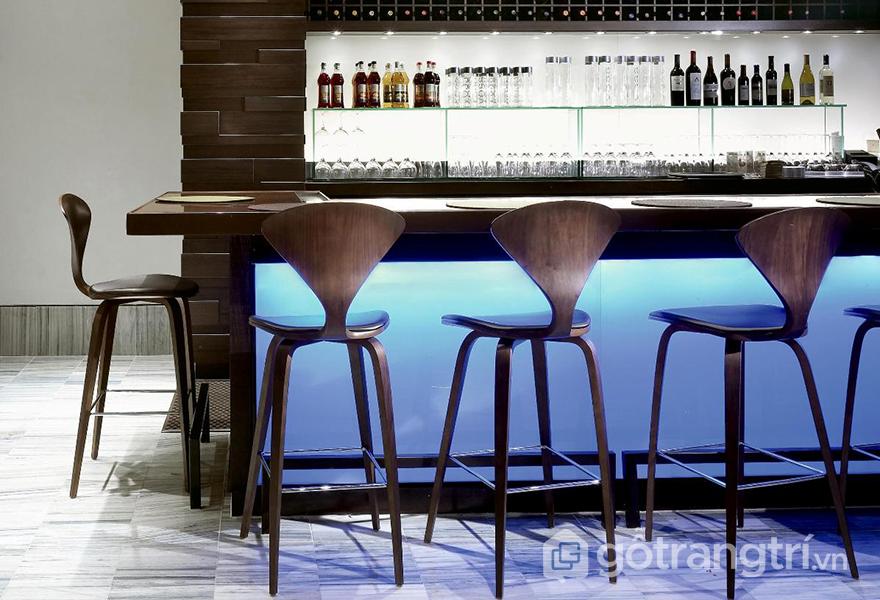 Loại ghế này có thể đặt tại quầy bar của bếp