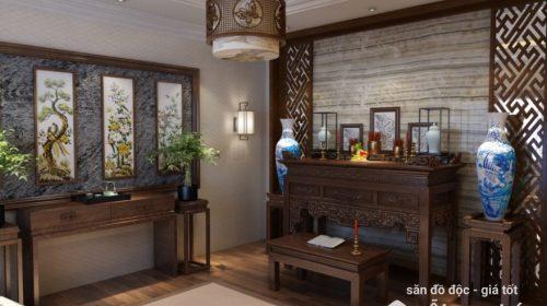 Phong thủy phòng thờ: Bàn thờ nên dùng gỗ gì là tốt nhất?