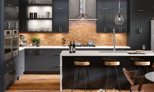 Những loại bề mặt trang trí ép lên nội thất gỗ công nghiệp