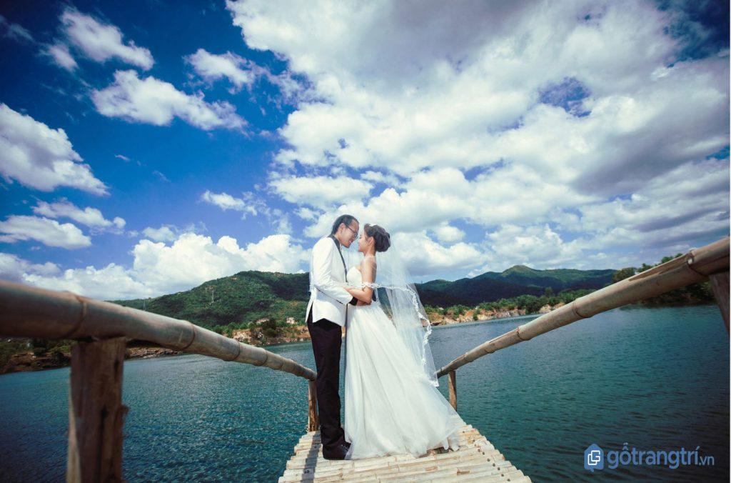 Bộ hình cưới lung linh của một cặp đôi tại Hồ Đá Xanh - Vũng Tàu