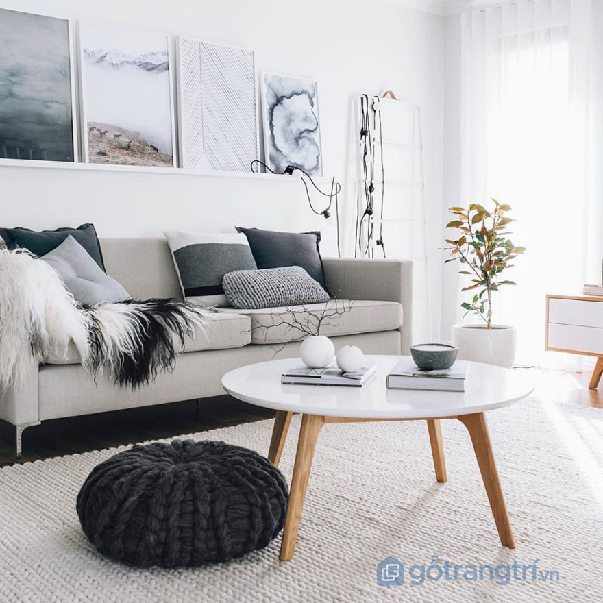 Phong cách Happy Hygge trong thiết kế nội thất đề cao yếu tố tự nhiên