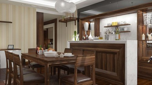 Những loại gỗ tự nhiên thường được sử dụng để sản xuất nội thất