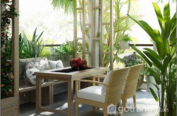 Chiêm ngưỡng thiết kế căn hộ lấy cảm hứng từ vẻ đẹp của mùa thu (P2)