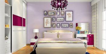 Gợi ý thiết kế phòng ngủ theo phong cách lãng mạn đơn giản, dễ áp dụng